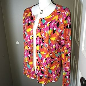 August Silk Cardigan Sz. XL -4 for $13